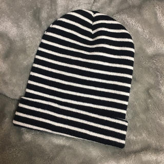 ザラ(ZARA)のボーダーニット帽(ニット帽/ビーニー)