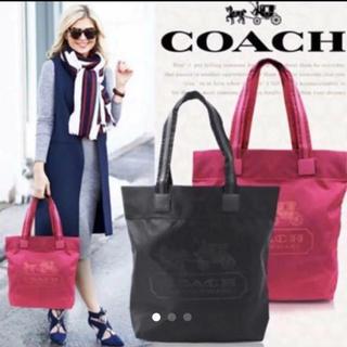 コーチ(COACH)のコーチ Coach トートバッグ 紫 新品(トートバッグ)