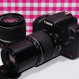 キヤノン(Canon)の❤️ドキドキ・ワクワク❤️Canon Kiss x3 大迫力のダブルズームキット(デジタル一眼)