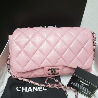 シャネル(CHANEL)の確実正規品 美品 シャネル ピンク ショルダーバッグ 2way ベビーピンク(ショルダーバッグ)