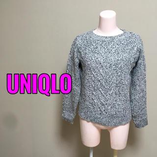 ユニクロ(UNIQLO)のUNIQLO♡ケーブル柄プルオーバーニット(ニット/セーター)
