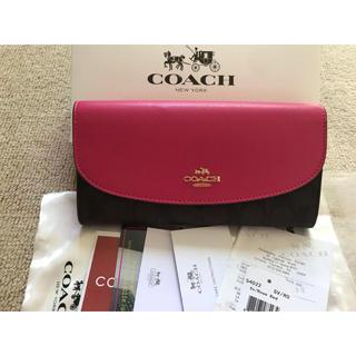 コーチ(COACH)の人気❗️宅急便で迅速発送❣️COACH コーチ 長財布 送料無料 ✨即購入◎(財布)