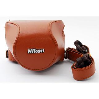 ニコン(Nikon)の★ニコンJ5用カメラケース★NIKON cb-n2220sa ブラウン(ケース/バッグ)