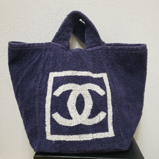 aad53be1de2a CHANEL - 確実正規品 シャネル デカバッグ タオルバッグの通販 by CoCo's ...