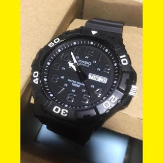 CASIO - CASIO 腕時計 ブラック×シルバー 38mm