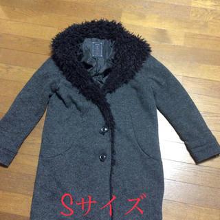 シュカ(shuca)のshuca レディースハーフコートSサイズ(毛皮/ファーコート)