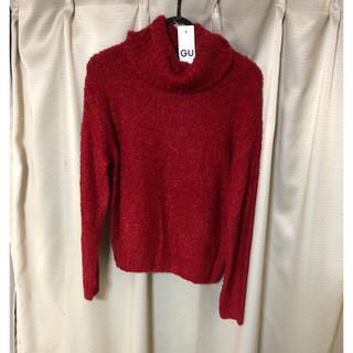 ジーユー(GU)の新品 未使用 GU ブークレタートルネックセーター(ニット/セーター)