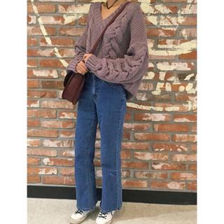ザラ(ZARA)の韓国ファッション▼ニット 即納 くすみ(ニット/セーター)