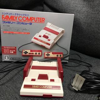 ニンテンドウ(任天堂)のニンテンドークラシックミニ ファミリーコンピュータ ファミコン(家庭用ゲーム本体)