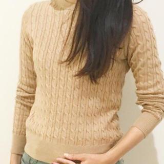 ユニクロ(UNIQLO)のコットンカシミヤセーター ユニクロ(ニット/セーター)