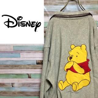 ディズニー(Disney)の★フォロー割実施中★ ディズニー プーさん シャツ デカロゴ(シャツ)