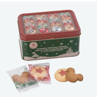 ディズニー(Disney)のミッキー クリスマス クッキー(菓子/デザート)