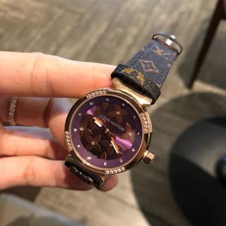 ルイヴィトン(LOUIS VUITTON)のビドン レディース ファッション 電子式 腕時計(腕時計)