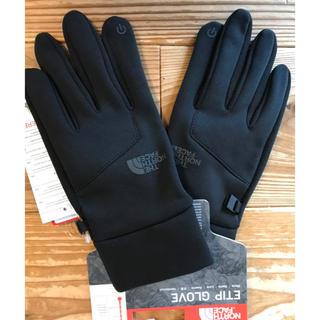 ザノースフェイス(THE NORTH FACE)のノースフェイス イーチップグローブ   ブラック Lサイズ(ユニセックス)(手袋)