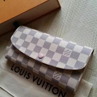 ルイヴィトン(LOUIS VUITTON)の2017年製☆新品☆ルイヴィトン☆ダミエアズール エミリー☆長財布(財布)