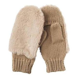 ジーユー(GU)のGU ファー手袋(手袋)