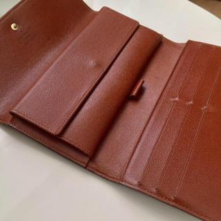 ルイヴィトン(LOUIS VUITTON)の美品  正規品ルイヴィトン三つ折り長財布(財布)