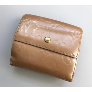 ルイヴィトン(LOUIS VUITTON)のルイヴィトン ヴェルニ Wホック 財布(財布)