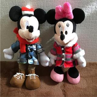 ディズニー(Disney)のTDRTDLTDS☆ディズニー☆お出かけポージープラッシー☆ミッキー ミニー新品(キャラクターグッズ)