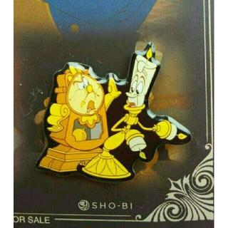 ディズニー(Disney)の《非売品》美女と野獣 ピンバッジ(バッジ/ピンバッジ)
