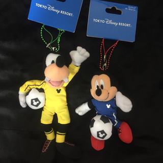 ディズニー(Disney)の新品 ディズニー ぬいスト ワールドカップ サッカー グーフィー ランド ぬいば(ぬいぐるみ)