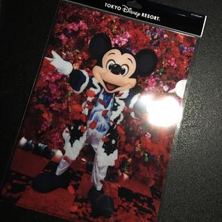 ディズニー(Disney)の新作❤️新品*ディズニー  イマジニング クリアファイル 実写 ミッキー 蜷川(キャラクターグッズ)