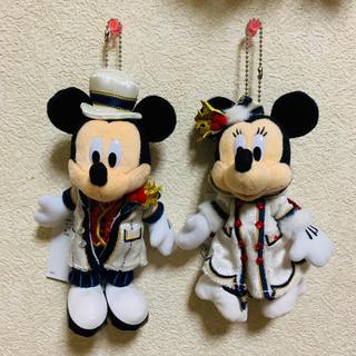 ディズニー(Disney)のミッキー&ミニー Disney Christmas2018 マスコット(キャラクターグッズ)