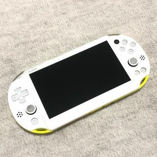 vita 2000  ライムグリーン(携帯用ゲーム本体)