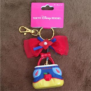 ディズニー(Disney)のTDRTDLTDS☆ディズニー プリンセス☆白雪姫☆バッグ型キーチェーン☆新品(キャラクターグッズ)