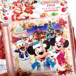 ディズニー(Disney)のディズニークリスマス2018 イッツクリスマスタイム CD(キャラクターグッズ)