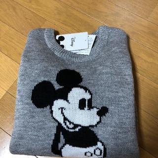 しまむら - Mサイズ☆ミッキーマウス☆ニット