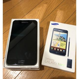 サムスン(SAMSUNG)の Samsung Galaxy note Sim フリー GT-N7000(スマートフォン本体)