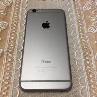 アイフォーン(iPhone)のiphone6 64G au スペースグレー(スマートフォン本体)
