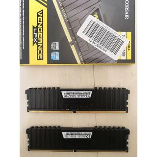 CORSAIR PC用メモリ DDR4-2666MHz 8GBx2 16GB(PCパーツ)