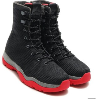 ナイキ(NIKE)の★NIKE JORDAN FUTURE BOOT 黒/赤(ブーツ)