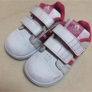 アディダス(adidas)のadidas スニーカー キッズ 13cm ピンク アディダス 女の子(スニーカー)