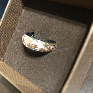 ハワイアンジュエリー14kピンク×ホワイト(リング(指輪))