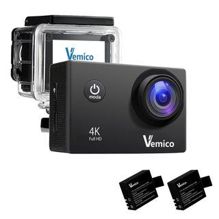 ★限定価格★1600万画素 ゴープロ互換 4kアクションカメラ ブラック(コンパクトデジタルカメラ)