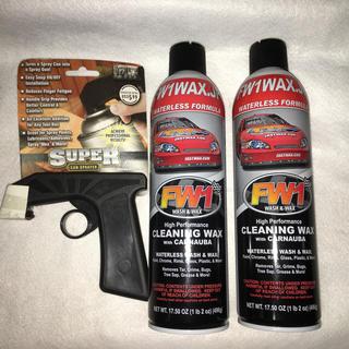FW1 水を使わない洗車&ワックス剤(洗車・リペア用品)