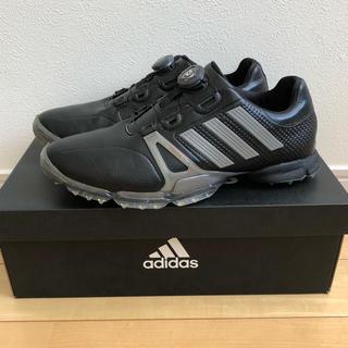 アディダス(adidas)の【美品】adidas パワーバンド ボア ゴルフシューズ(その他)