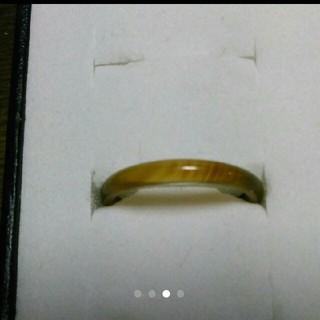 15.5号 右上3【数量限定  細い瑪瑙リング】 天然石メノウ リング(リング(指輪))