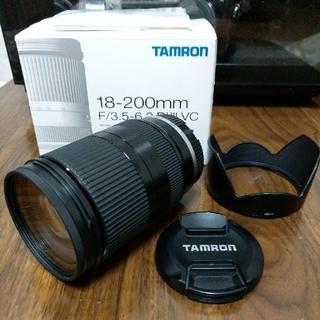タムロン(TAMRON)のTAMRON 18-200mm F/3.5-6.3 ソニーEマウントレンズ(レンズ(ズーム))