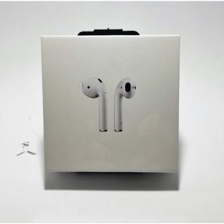 アップル(Apple)の【新品未開封】アップル AirPods MMEF2J/A(ヘッドフォン/イヤフォン)