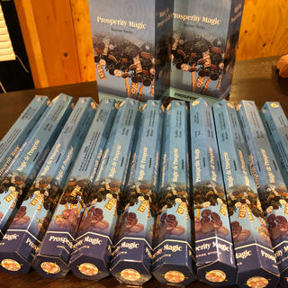 お香  インド 繁栄や繁盛を招く 20本×11箱 スティックタイプ アロマ(お香/香炉)