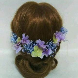 髪飾り 結婚式 成人式 卒業式(ヘアアクセサリー)