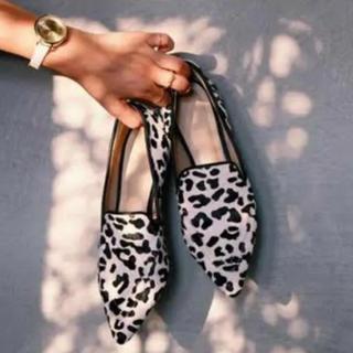 エイミーイストワール(eimy istoire)のエイミーイストワール ダルメシアン フラットシューズ(ローファー/革靴)