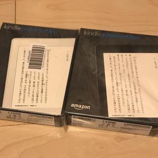 kindle paperwhite マンガモデル 32GB 二台セット(電子ブックリーダー)