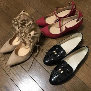 ジーユー(GU)のGU靴3点セット(ハイヒール/パンプス)