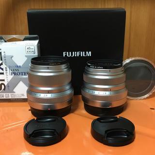 フジフイルム(富士フイルム)の富士フイルム XF23mm F2 R WR & XF35mm 日本製 おまけ付(レンズ(単焦点))