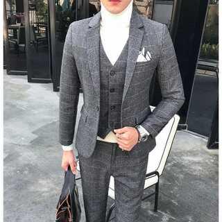 セットアップ 無地 スーツメンズ 紳士 スーツジャケット 着痩せzb378(セットアップ)